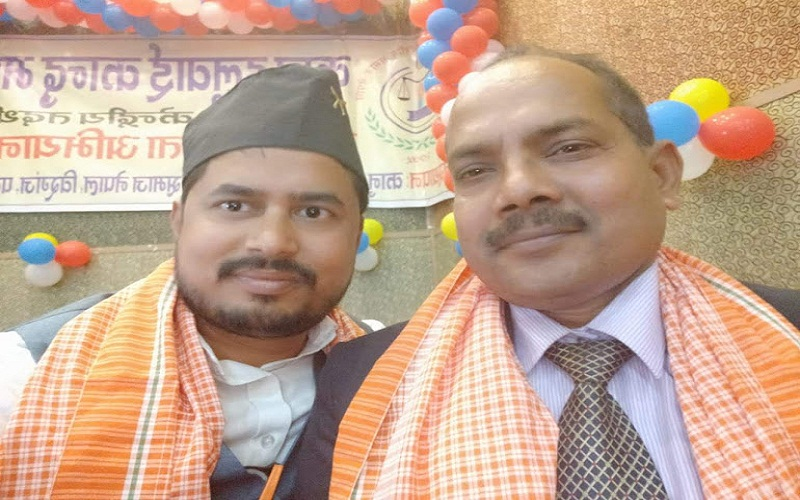 Sandeep Gupta ji in the program of kanu halwai kandu madheshiya samaj in nepal.
